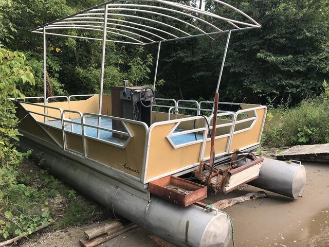 24ft Weeres 1970 Pontoon Boat For Sale In Battle Lake Otter
